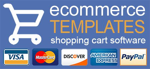Ecommerce Templates Shopping Cart Software