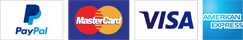 Credit Card, Debit Card or PayPal
