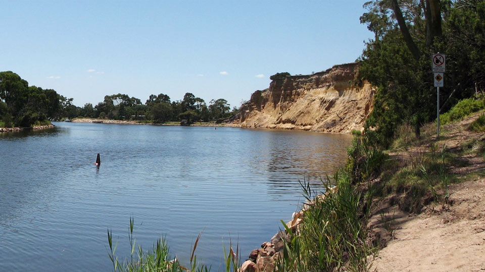 Mitchell River Bluff, Eagle Point, East Gippsland, Victoria