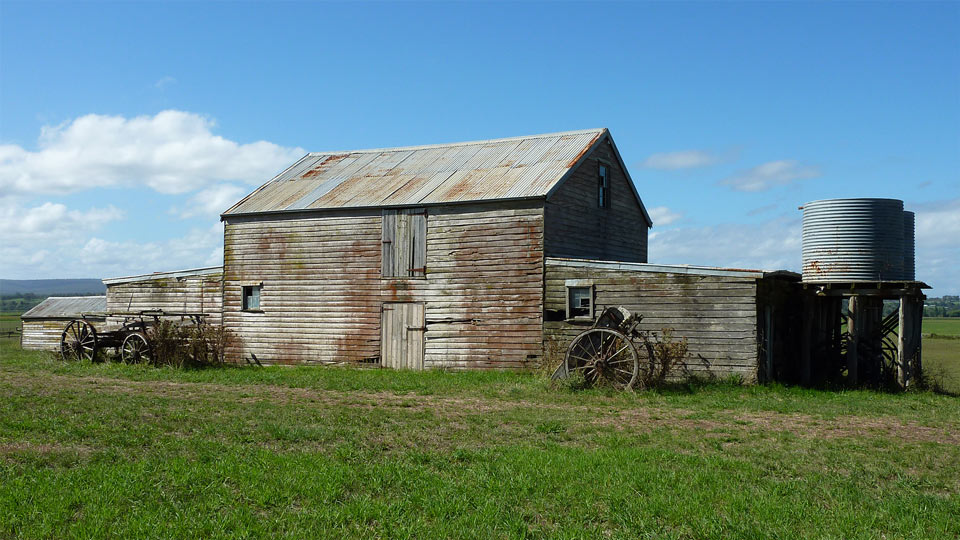 Ridgehaven Farmhouse Sheds on Lindenow to Bairnsdale Road, East Gippsland, Victoria