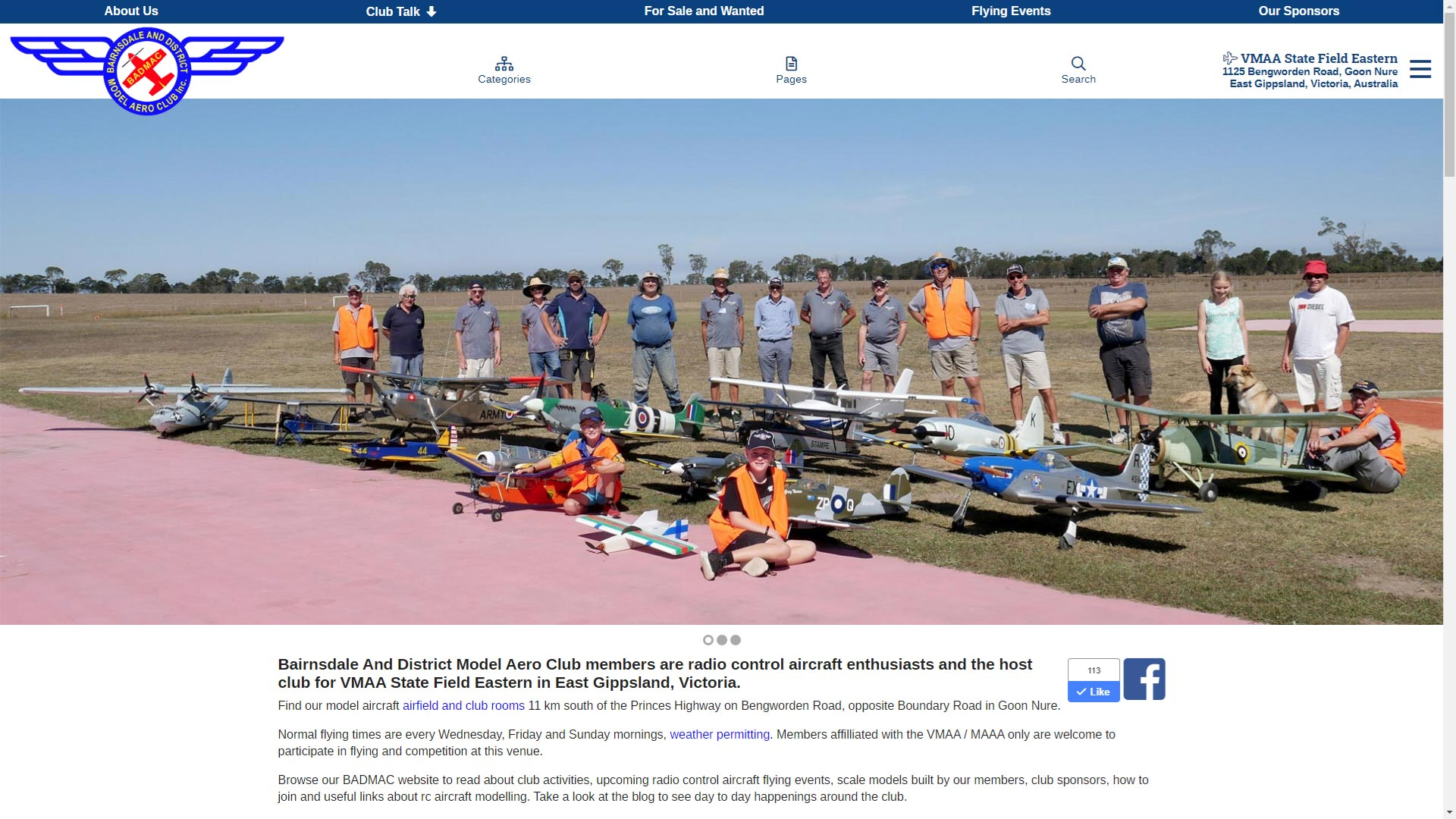 Bairnsdale And District Model Aero Club