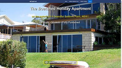 Boatshed Holiday Apartment, Soldiers Point