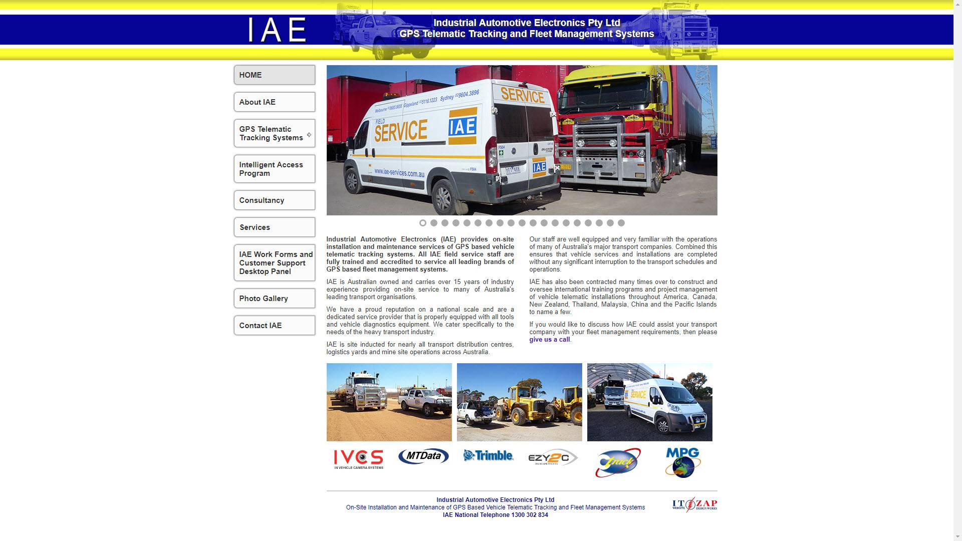Industrial Automotive Electronics, Sarsfield website