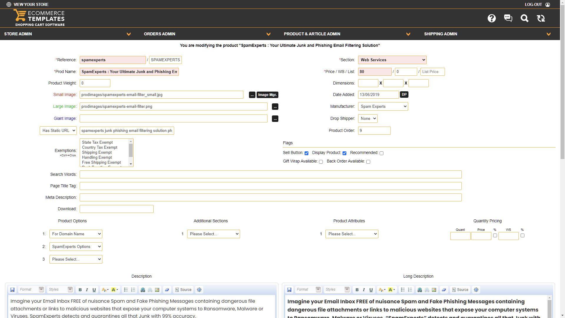 Ecommerce templates admin panel custom css stylesheet for Responsive stylesheet template