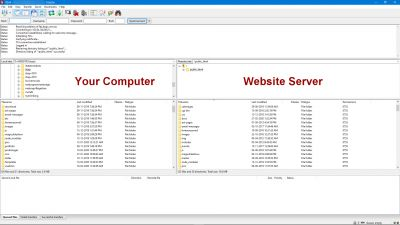 FileZilla free FTP website file transfer software
