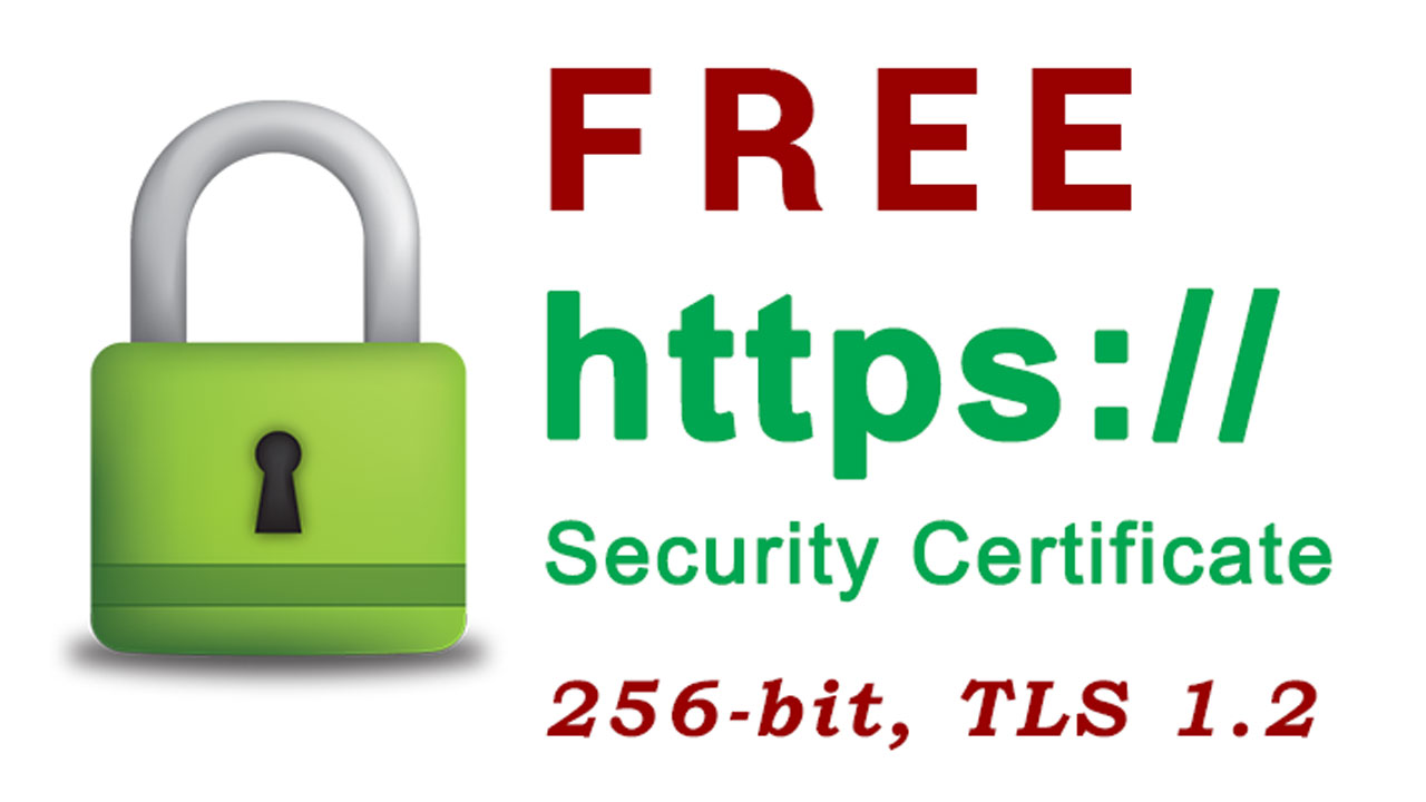 Ssl Security Certificate Free At It Zap Website Design Works