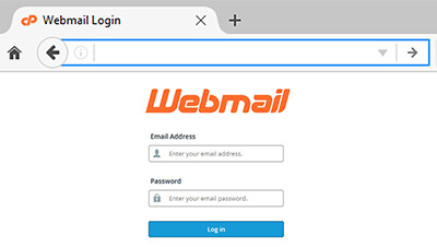 Login to Webmail using any web browser